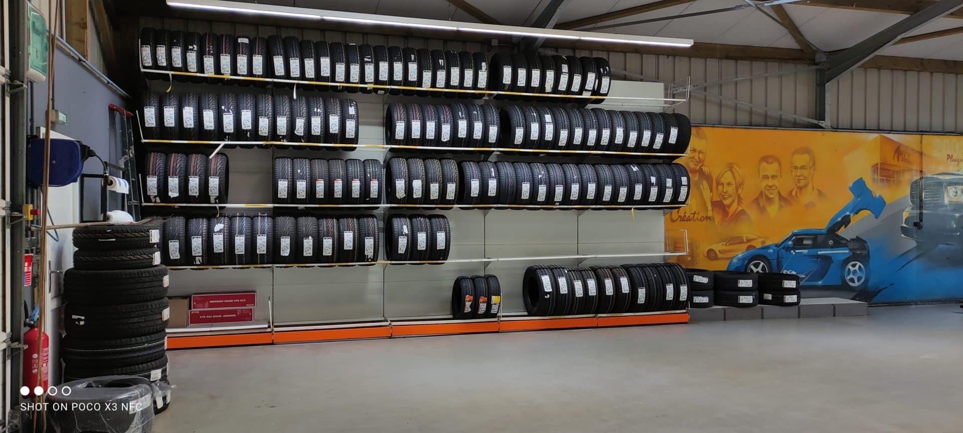 Garage pneus toutes marques Brest Finistere Avranches - Tous les pneus